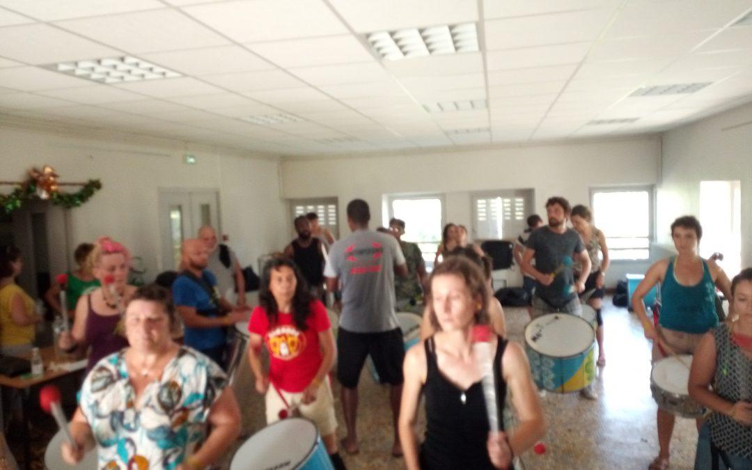 MASSAGE AU FESTIVAL CONNEXION BRASIL, MERCI TIM'BODE !!